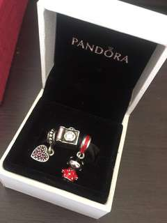 Authentic pandora charms! 6k for 3charms!