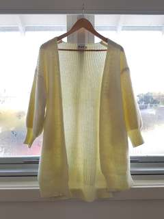 S/M sized cardigan with balloon sleeves
