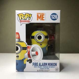 Funko Pop Fire Alarm Minion