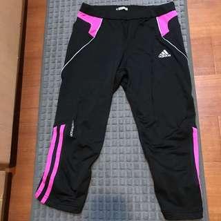 🚚 Adidas 七分束褲
