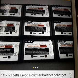 ESYSKY 充電器共9個