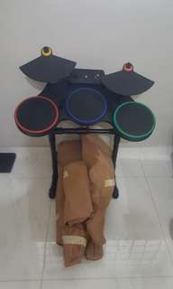 Musical drum set for kids