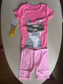 Girl T-shirt + shorts for 2-4 ages