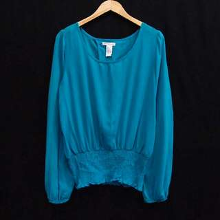 Blouse Blue Tipis ROOMMATES bu698-SP