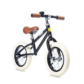 BNIB Happy Bikes Balance Bike - Harper (Black)