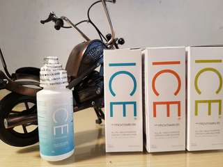 Solution ice with pro vitaminB5