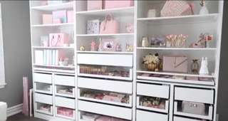 Vanity Drawers/ Makeup Cabinets