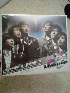 Lollipop F dvd +Cd