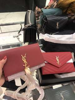 Ysl Bag 代訂 wallet on chain /lou lou