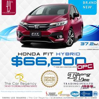 Honda FIT HYBRID ( 2018 )( NEW )( MINI )( OPC )( ROPC )( WEC )