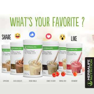 HERBALIFE Formula 1 (F1) Nutritious Mixed Soy