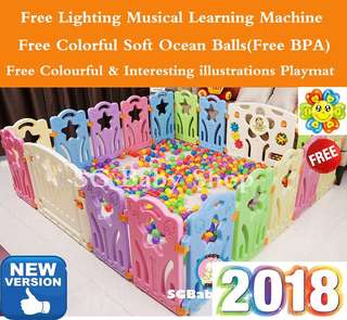 Baby Play Yard/playpen/offer/free playpen mat