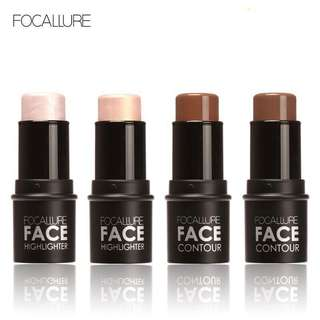 🦋FOCALLURE Face Cosmetics Shimmer Light Powder Cream Stick🦋