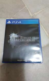 Ps4 Final fantasy 15 + poster for RM100