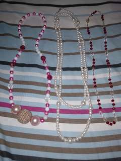 Necklaces 3 for $10