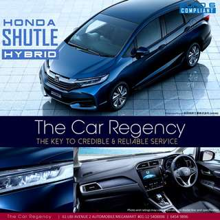 HONDA SHUTTLE HYBRID ( 2017 )( LED)( NEW )( WGN )