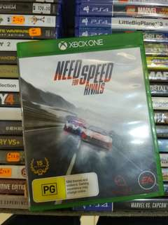 Xbox One Need For Speed Rivals