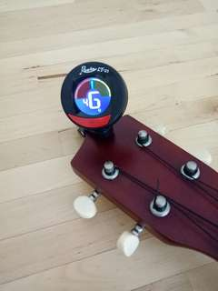 Chromatic Tuner for Ukulele, Guitar and other stringed instruments