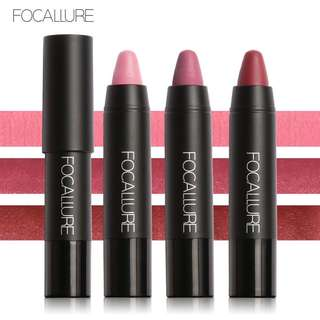 🦋FOCALLURE 3pcs/kit Waterproof Long-lasting Velvet Lips Lipstick Matte Lipstick🦋
