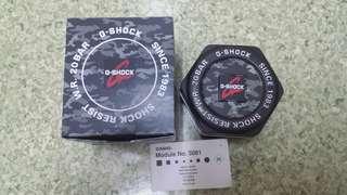 G Shock Module No 5081 Original Box and Manual