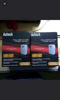 Aztech Power Line Ethernet Adopter
