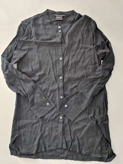 Armani Exchange Black Blouse