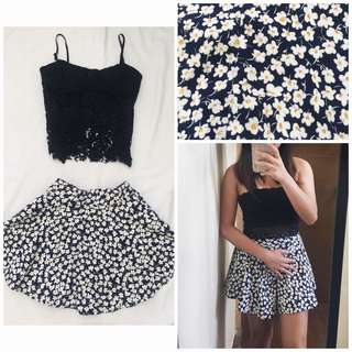 Floral skirt. Size 24-27