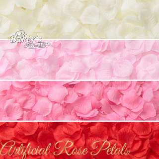 100 pcs Artificial Rose Petals for Wedding & Party Decoration (Ready Stock)!!!