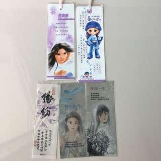 Lady bookmarks -5pcs #nogstday