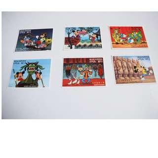 迪士尼卡通郵票