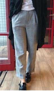 Checked pants