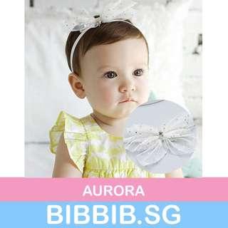**JUNE SALES** Baby Hairbands - Aurora