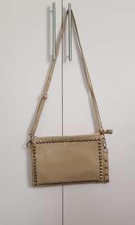 Studded Nude Handbag
