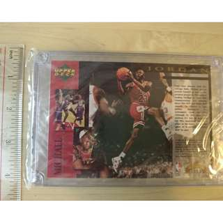 1995 Michael Jordan Collector's edition by Upper Deck $60 – 20/05