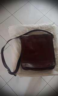 Vera Pelle Italy Messenger Leather Bag
