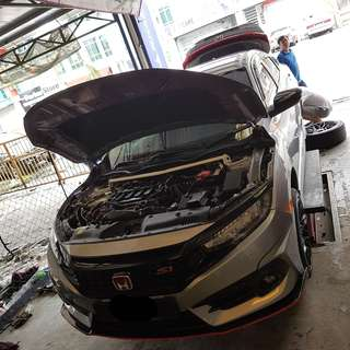 Civic FC Ultra Racing Bar Stage 1