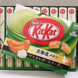 🚚 KitKat 北海道哈密瓜巧克力酥