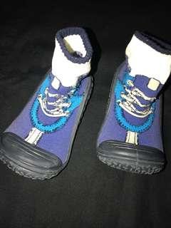Baby prewalker rubber sock sole