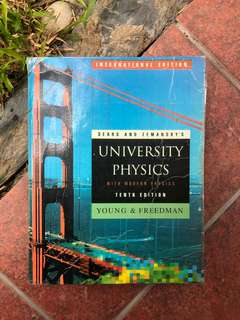 University Physics 10th Edition