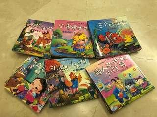 Children's Story Books 60pcs 13.5cm x 13.5cm