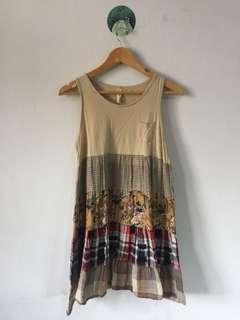 Brownie shabby chic dress