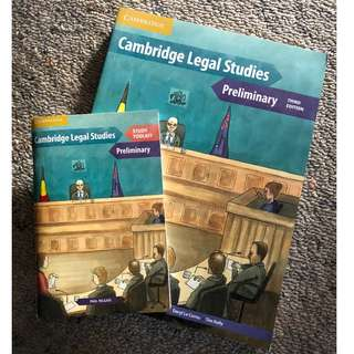 Cambridge Legal Studies Preliminary Third Edition (HSC Legal Studies)