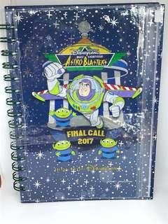 迪士尼巴斯光年紀念版筆記本 Disney