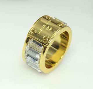 Micheal Kors elegant ring (Gold colour)