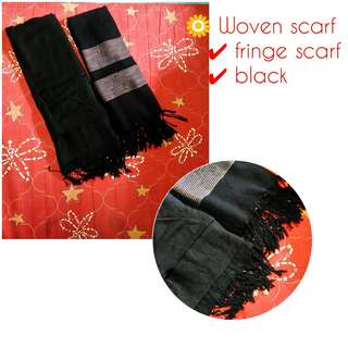 Woven scarves/ scarf take all