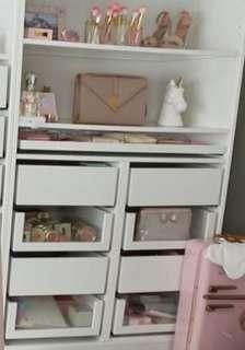 Vanity drawer/ Makeup shelf