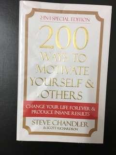 200 ways to motivate yourself