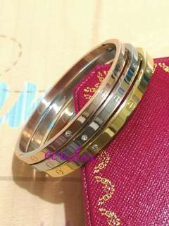 New 3n1 Bangle with Stone