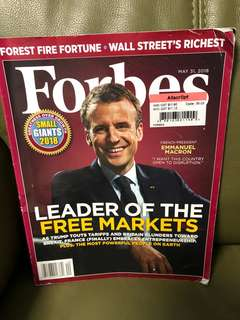 Forbes May 2018