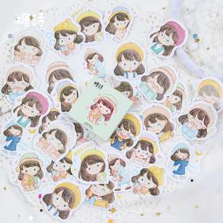 Little Girl Stickers (45pcs)